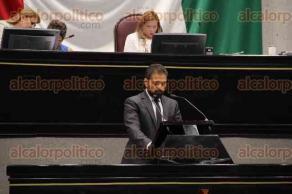Xalapa, Ver., 26 de mayo de 2016.- Sesi�n en el Congreso del Estado, en donde se aprob� la propuesta de Ley de Transparencia.