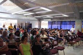 Xalapa, Ver., 26 de mayo de 2016.- Estudiantes de Publicidad y Relaciones P�blicas de la UV, presentaron el evento