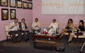 Xalapa, Ver., 26 de mayo de 2016.- Se present� la conferencia