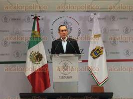 Xalapa, Ver., 26 de mayo de 2016.- El fiscal general del Estado, Luis �ngel Bravo, durante conferencia de prensa la noche de este jueves inform� sobre la investigaci�n en el homicidio en el bar Madame.