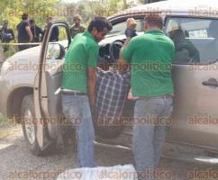 Acayucan, Ver., 28 de mayo de 2016.- La tarde de este s�bado un grupo de hombres asesin� de un disparo en la cabeza al exregidor Salvador Rodr�guez, los sujetos se dieron a la fuga y no han sido detenidos.