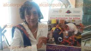 Xalapa, Ver., 29 de mayo de 2016.- Club Rotario Internacional de Xalapa y sus filiales de Xalapa y Coatepec realizar�n el programa Ench�lame la Silla los d�as 30, 31 de mayo, 1 y 2 de junio en el MIX, de 9:00 a 18:00 horas.