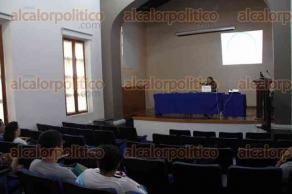 Xalapa, Ver., 30 de mayo de 2016.- Se imparti� la conferencia