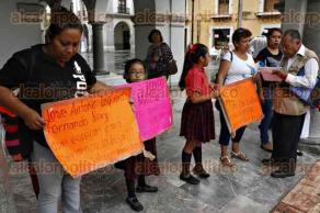 Veracruz, Ver., 27 de junio de 2016.- Padres de familia de la primaria