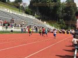 Xalapa, Ver., 28 de marzo de 2016.- Organiza la SEC evento de atletismo