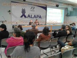Xalapa, Ver., 30 de junio de 2016.- Conferencia
