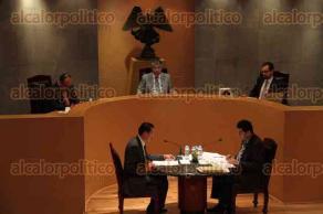 Xalapa, Ver., 1 de julio de 2016.- Sesi�n p�blica en la Sala Regional Xalapa del Tribunal Electoral del Poder Judicial de la Federaci�n.