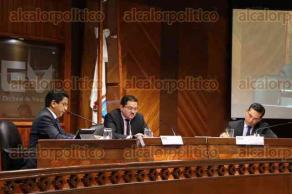 Xalapa, Ver., 22 de julio de 2016.- Sesi�n en el Tribunal Electoral de Veracruz en donde se presentaron denuncias contra Fernando Yunes y Miguel �ngel Yunes por parte del PRI.