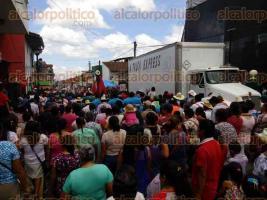 Xico, Ver., 23 de julio de 2016.- Con marat�nica jornada de procesiones, contin�a el Pueblo M�gico celebrando a su Santa Mar�a Magdalena.