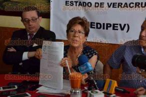 Xalapa, Ver., 25 de julio de 2016.- La presidenta de COPIPEV, Adriana Ch�vez Tejeda, inform� que la CEDH comprob� que existi� el pago atrasado de las pensiones, emitiendo una recomendaci�n al IPE y a SEFIPLAN.