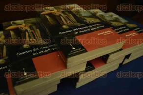 Xalapa, Ver., 25 de julio de 2016.- La tarde de este lunes, se present� el libro