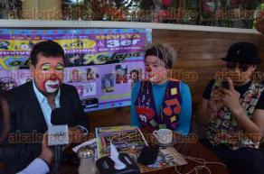 Xalapa, Ver., 26 de julio de 2016.- El payaso Bachichin invit� al p�blico en general para que asista del 1 al 3 de agosto al festival