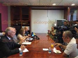 Xalapa, Ver., 28 de julio de 2016.- Legisladores panistas declararon que no fueron tomados en cuenta para integrar la Diputaci�n Permanente.