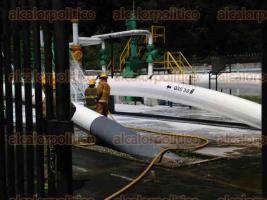R�o Blanco, Ver., 29 de julio de 2016.- Simulacro de fuga de gas en gasoducto de 30 pulgadas en subestaci�n de bombeo Pemex.