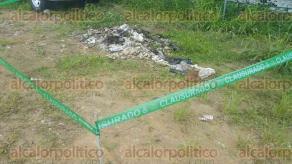 Banderilla, Ver., 29 de julio de 2016.- La Procuradur�a de Medio Ambiente �nicamente clausur� el �rea donde fue quemado el medicamento caduco de la Secretar�a de Salud; en el terreno se resguarda el parque vehicular.