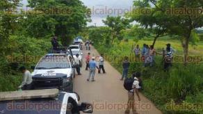 Minatitl�n, Ver., 23 de agosto de 2016.- Este martes a mediod�a, en la comunidad de Ojochapa, elementos de SSP habr�an abatido a 5 integrantes de la delincuencia organizada.