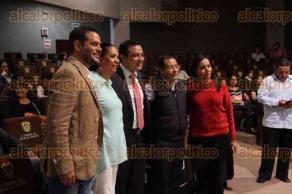 Xalapa, Ver., 24 de agosto de 2016.- Inauguraci�n del 2� Congreso internacional de derechos animales en el Congreso del Estado.