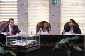 Xalapa, Ver., 25 de agosto de 2016.- Sesi�n ordinaria de la diputaci�n permanente en el Congreso del Estado. Diputados deber�n llamar a una elecci�n extraordinaria en el distrito de Cosolecaque.