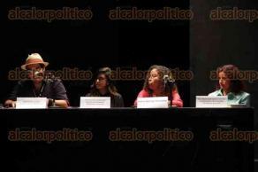 Xalapa, Ver., 29 de agosto de 2016.- Se present� en conferencia de prensa la primer Muestra internacional de cine con perspectiva de g�nero en Veracruz, en el auditorio del �gora de la Ciudad.