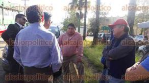 Xalapa, Ver., 30 de agosto de 2016.- Luego de tomar la SEV, Gustavo Enrique Guzm�n Torres, alias