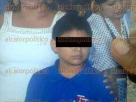 Coatzacoalcos, Ver., 30 de agosto de 2016.- El menor de 12 a�os fue secuestrado sobre la calle �lvaro Obreg�n y Ayuntamiento, de la colonia Benito Ju�rez Norte.