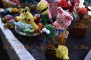 Xalapa, Ver., 30 de agosto de 2016.- Inauguran la Expo venta artesanal Xalapa 2016 del 30 de agosto al primero de septiembre, en bajos de palacio municipal.