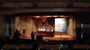 Xalapa, Ver., 30 de agosto de 2016.- Este martes, en el auditorio del Museo de Antropolog�a de Xalapa, fue presentado el libro