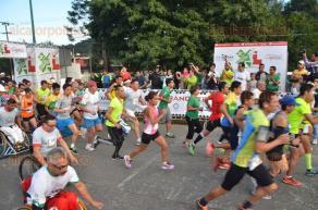 Xalapa, Ver., 25 de septiembre de 2016.- Se llev� a cabo la segunda edici�n de la carrera Nuestra Capital XL por calles de esta ciudad, con la participaci�n de m�s de mil corredores.