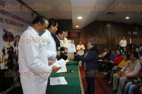 Xalapa, Ver., 27 de septiembre de 2016.- En la Cl�nica 11 del IMSS fue el �Homenaje y Reconocimiento al M�rito y Altruismo del Donador y sus Familias