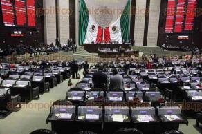 Ciudad de M�xico, 29 de septiembre de 2016.- En la C�mara de Diputados abordaron temas de la Ciudad de M�xico y nacionales pero con gran ausencia de legisladores, adem�s de poca atenci�n a los oradores.