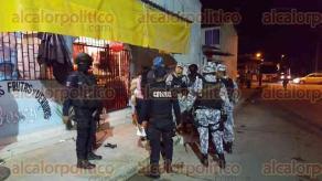 Coatzacoalcos, Ver., 30 de septiembre de 2016.- Un par de sujetos armados lleg� hasta la calle de Ardillas entre Jabal� y bulevar del Tr�pico de la colonia Gaviotas para asaltar una tiendita, ante la resistencia de la encargada, la balearon.