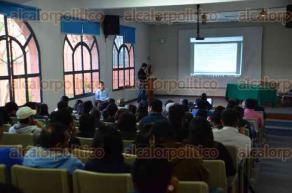 Xalapa, Ver., 20 de octubre de 2016.- En la Facultad de Inform�tica de la UV se celebr� el D�a de la Estad�stica con diversas conferencias como