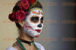 Veracruz, Ver., 20 de octubre de 2016.- Presentaci�n del programa para el D�a de Muertos 2016. Dentro de las actividades se contemplan concursos de altares, catrinas, festival gastron�mico, taller de maquillaje y una caminata con 500 personajes caracterizados en alusi�n a la fiesta de los muertos.