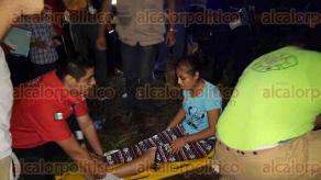 San Andr�s Tuxtla, Ver., 20 de octubre de 2016.- Alrededor de las 19:00 horas de este jueves se report� el choque entre dos veh�culos en la carretera San Andr�s Tuxtla-Santiago Tuxtla. Las personas que resultaron lesionadas fueron trasladadas a hospitales de San Andr�s.