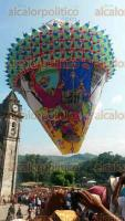 Zozocolco de Hidalgo, Ver., 22 de octubre de 2016.- La Direcci�n de turismo del ayuntamiento emiti� la convocatoria para participar en el XII Concurso y V Festival Internacional de globos de papel china.
