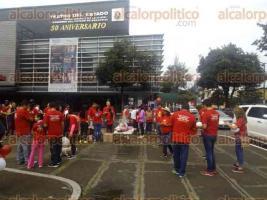 Xalapa, Ver., 23 de octubre de 2016.- Xalapa, Ver., 23 de octubre de 2016.- Integrantes del Club Rotario organizaron la caminata