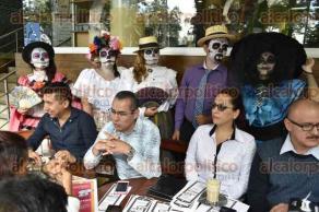 Xalapa, Ver., 25 de octubre de 2016.- Anuncian el espect�culo musical