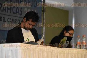 Xalapa, Ver., 26 de octubre de 2016.- Presentan la mesa