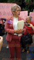 Xalapa, Ver., 26 de octubre de 2016.- Virginia Viveros, de la Fundaci�n Mej�a-Viveros, solicit� audiencia al Gobernador, para que se le d� soluci�n a una serie de demandas.