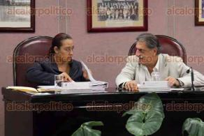 Xalapa, Ver., 27 de octubre de 2016.- S�ptima sesi�n ordinaria en la sala de diputaci�n permanente en el Congreso del Estado.