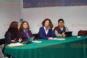 Xalapa, Ver., 28 de octubre de 2016.- Presentaci�n del libro: