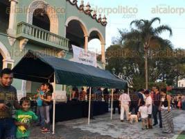 Xalapa, Ver., 4 de diciembre de 2016.- Este domingo la Secretaría de Marina-Armada de México clausuró la exposición
