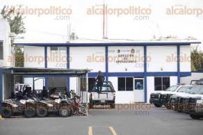 Veracruz, Ver., 6 de diciembre de 2016.- Pase de lista del programa Policía en tu colonia, en las instalaciones del Centro Integral de Seguridad Pública