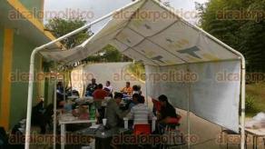 Xalapa, Ver., 6 de diciembre de 2016.- Manifestación de alumnos del Instituto Tecnológico Superior de Xalapa (ITSX).