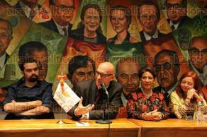 Ciudad de México, 6 de diciembre de 2016.- El líder de Movimiento Ciudadano, Dante Delgado presentó la nueva imagen y visión del MC y aseguró que buscan integrar a su proyecto de nación las propuestas ciudadanas.