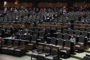 Ciudad de México, 7 de diciembre de 2016.- Los legisladores muestran poco interés en las últimas sesiones del periodo ordinario de 2016, al presentarse únicamente iniciativas ante un pleno casi vacío.