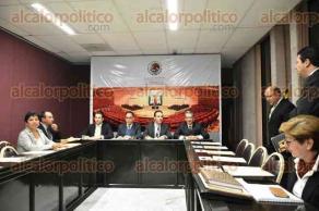 Xalapa, Ver., 8 de diciembre de 2016.- El auditor general del Órgano de Fiscalización Superior, Lorenzo Antonio Portilla Vásquez, acudió al Congreso del Estado para asistir a la primera reunión de los diputados integrantes de la Comisión de Vigilancia.