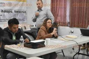 Xalapa, Ver., 9 de diciembre de 2016.- La mañana de este viernes fue la reunión estatal del Movimiento Agrario Indígena Zapatista (MAIZ), en la cual estuvo presente la diputada Daniela Griego.