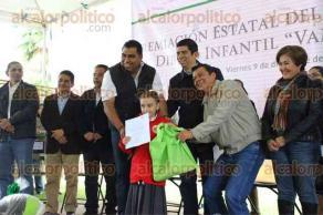 Banderilla, Ver., 9 de diciembre de 2016.- En la CONAFOR fue la premiación del 12vo Concurso Nacional de Dibujo Infantil