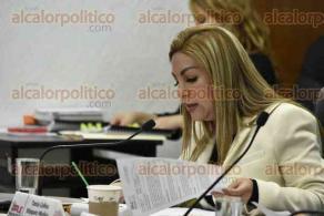 Xalapa, Ver., 9 de diciembre de 2016.- Se reúne la secretaria de Finanzas y Planeación, Clementina Guerrero, con el Consejo General del Organismo Público Local Electoral (OPLE) y representantes de partidos políticos.